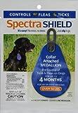 Dog Flea Treatment Collar - Spectra Shield Collar Attached Medallio 56+ lb