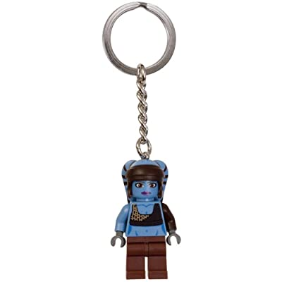LEGO Star Wars Aayla Secura Key Chain 853129: Toys & Games
