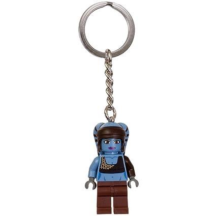 Amazon.com: LEGO star wars Aayla Secura llavero 853129: Toys ...