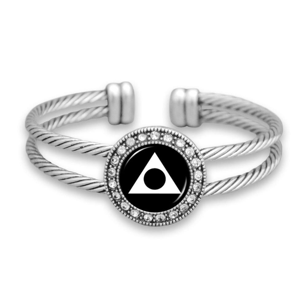 Amazon.com: Lola Bella Gifts Al-Anon Cuff Bracelet with Organza Pouch and Gift Box: Jewelry