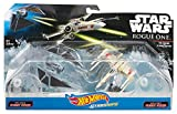 Hot Wheels Star Wars Rogue One Starships The Striker vs. X-Wing Fighter Vehicle, 2 Pack
