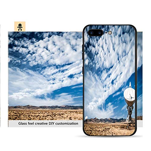 Array Large Telescope Very - iPhone 7p / 8p Ultra-Thin Phone case Very Large Array Radio telescopes New Mexico Resistance to Falling, Non-Slip, Soft, Convenient Protective case