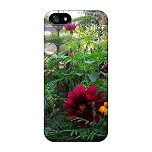 Fashion Protective Winter Village Flower Case Cover For Iphone 5/5s