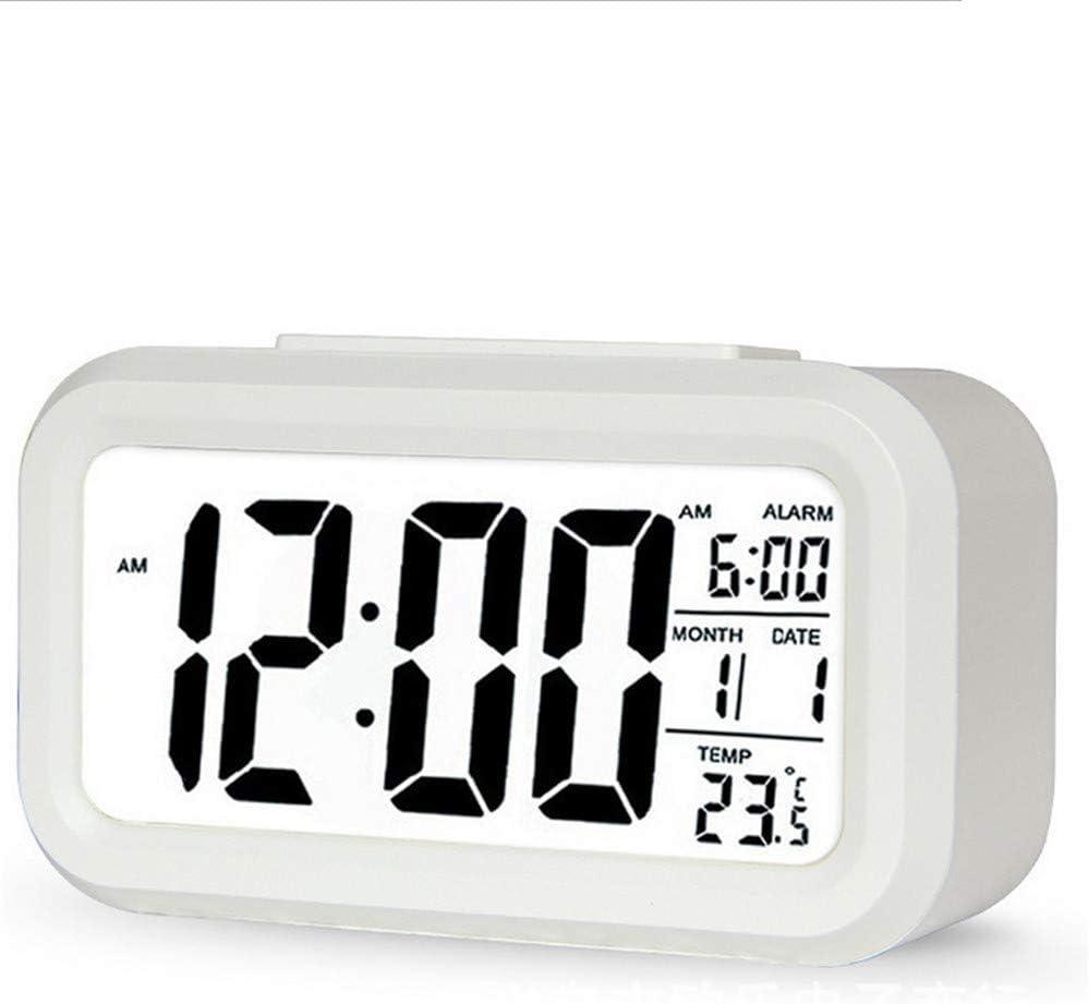 GYCZC Reloj Despertador Inteligente Luminoso Reloj Inteligente Niños Creativo Led Digital Reloj Despertador Electrónico Regalo