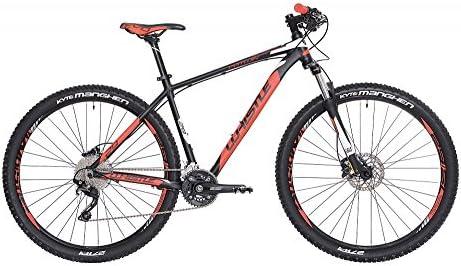 Bicicleta de montaña de 29 pulgadas Whistle Patwin 1720, Negro ...