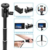 Selfie Stick, UBeesize Extendable Monopod with Tripod Stand and Bluetooth Shutter Remote for iPhone, Samsung, other Android phones, digital cameras and GoPro