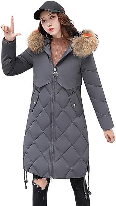 sous Doudoune Fine Femme Col en Peluche Chaude Pas Cher POPLY Doudoune Longue Femme Rouge Down Jacket Hooded Warm Manteaux Hiver Femme Outwear Veste