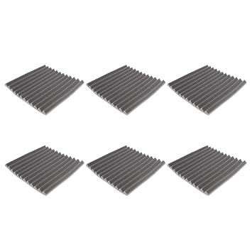 Sharplace 6 Pieza Paneles de Aislamiento Acústico de Estudio Complimentos Duradero: Amazon.es: Instrumentos musicales