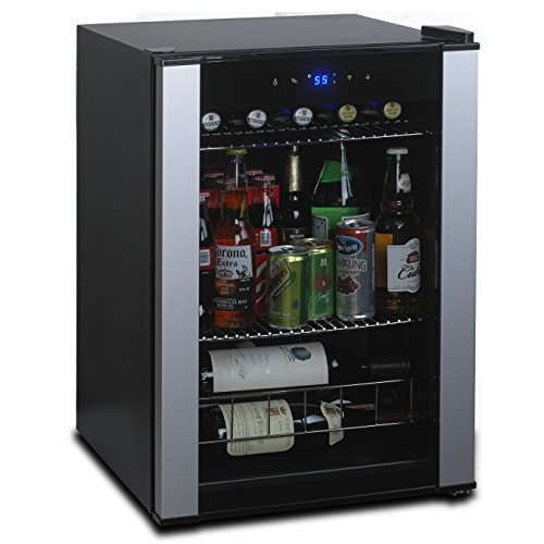 Wine Enthusiast Evolution Series Compact Wine & Beverage Center, Stainless Steel by Wine Enthusiast