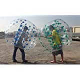 Cyana TOP NEW Inflatable Bumper Bubble Balls Body Zorb Ball Soccer Bumper Football 1.5M
