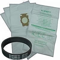 4 Kirby Allergen Micron Magic Universal F Style Turn Style Vacuum Bags & 1 Belt