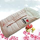 Sport do Top Grade Infant Wrap Quilt Children Push-car Sleeping Bag Winter Thicken Envelope Type Baby Sleeping Bag Pink