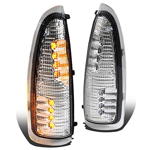 (DNA Motoring MLEDL-003-CH-AM Side Mirror Turn Signal Light)