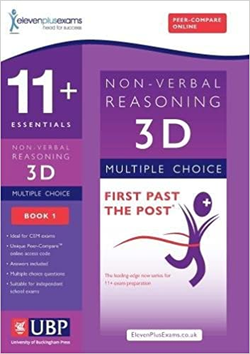 11 Essentials 3d Non Verbal Reasoning Practice Papers For Cem Book 1 First Past The Post Eleven Plus Exams 9781908684318 Amazon Com Books