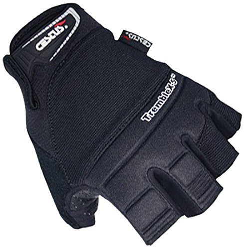 Cestus TREMBLEX-5 BK-2021 2XL Vibration Series Neoprene Polychloroprene Anti-Vibration Glove, Work, 2X-Large, Black (Pack of 1 Pair) Cestusline Inc