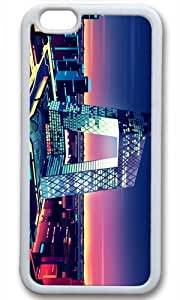 Beatiful City Architectural Case for iPhone 6 Plus TPU White by Cases & Mousepads