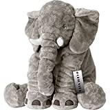 Toys : CHICVITA Gray Large Stuffed Elephant Plush Animals Toys, 24 Inches Cushion Plush Toy