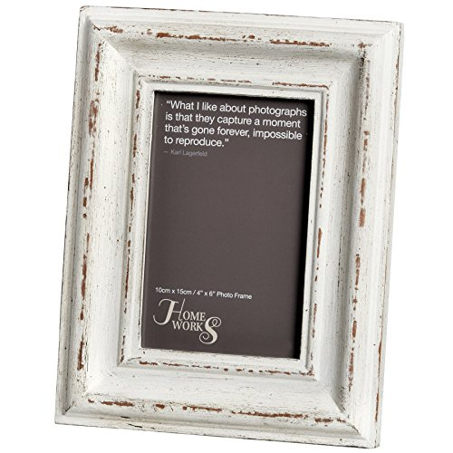 Hill Interiors Antique White Photo Frame (5x7) (Antique White) by Hill Interiors