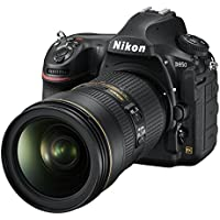 Nikon D850 FX-format Digital SLR Camera Body w/ Nikon AF-S FX NIKKOR 24-70mm f/2.8E ED Vibration Reduction Zoom Lens with Auto Focus