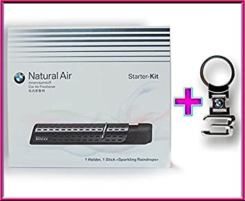 Bmw Original Innen Raumduft Natural Air Starter Kit Fahrzeugduft Innen Duft 83122285673 3 Series Logo Schlüsselanhänger Metall Auto
