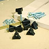 INCRA Build-It Knobs, 1/4-20 by 1-1/2-Inch Bolts, Washers, Set of 8 фото