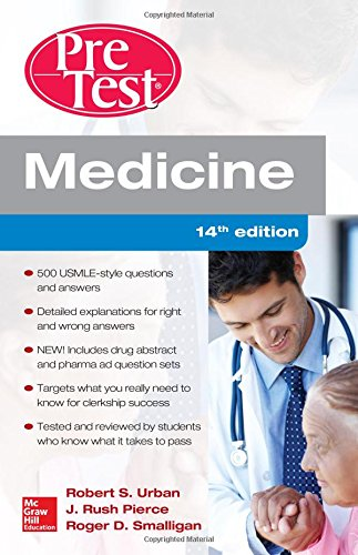 Medicine PreTest Self-Assessment and Review, Fourteenth Edition