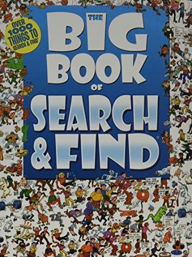 The Big Book of Search & Find (Children's Activity Book) -