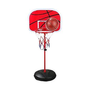 JiuMu Canasta de Baloncesto para niños Juguetes para niños ...