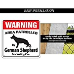 Alaskan Malamute Security Sign Area Patrolled pet Warning Veterinary Assistant 8