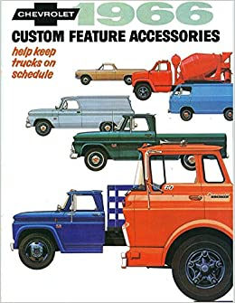 New 1966 Chevy Truck Accessories Catalog