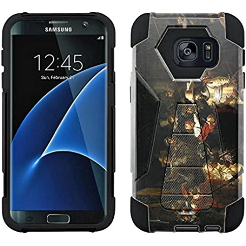 Samsung Galaxy S7 Edge Hybrid Case Rembrandt The Nightwatch 2 Piece Style Silicone Case Cover with Stand for Samsung Sales