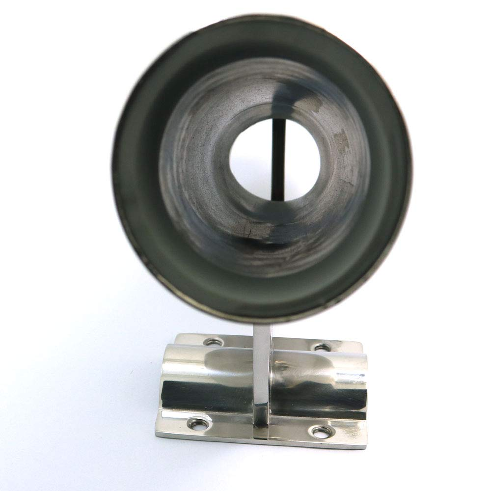 Acero Inoxidable, se Adapta a rieles de 25 mm, Grado Marino, para Barco de Pesca con Cartas NUZAMAS Soporte para ca/ña de Pescar