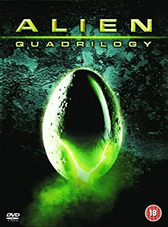 Alien Quadrilogy 9 Disc Complete Box Set DVD 1979