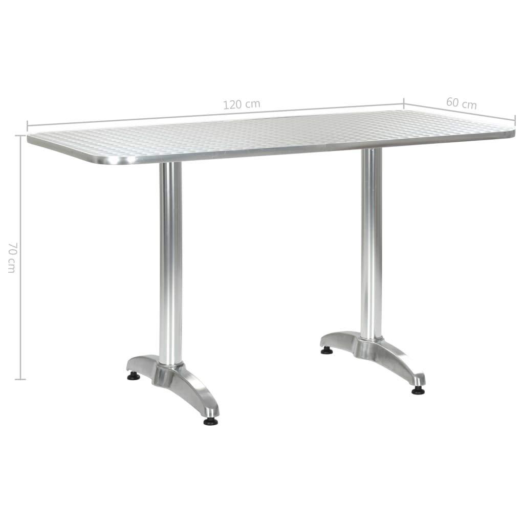 Papillon 8042010 8042010 Mesa Para Terraza De Aluminio 60 X