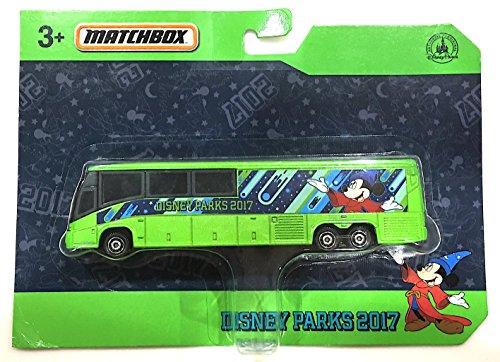 Disneyland Park Theme (Theme Park Merchandise Disney Parks 2017 Matchbox Model Bus)