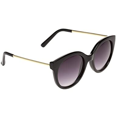 fa0326693c37 Jeepers Peepers Ladies Cat Eye Womens Sunglasses Black at Amazon ...