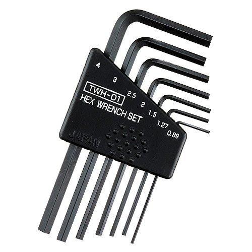 mini Inbusschlüssel Satz (hex wrench set) - 0.89mm 1.27mm 1.5mm 2.5mm 3.0mm & 4.0mm (japanische Qualität)