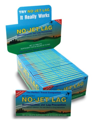 Lewis Clark No Jet Lag Homeopathic Remedy