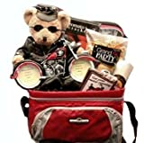 Biker Gift: Gourmet Snack Food Gift Basket -Great Fathers Day Gift Idea for Bikers