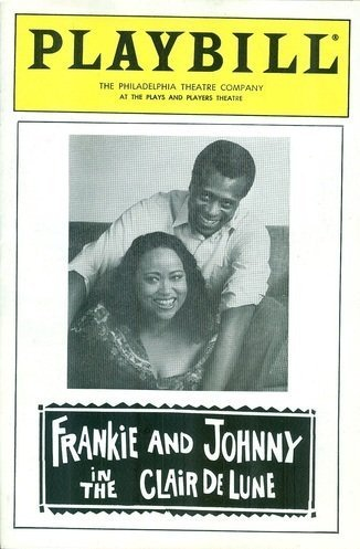 Playbill, The Philadelphia Theatre Company at the Plays and Players Theatre: Frankie and Johnny in the Clair de Lune, February 1989 (Herb Downer, Gloria Gifford) (Frankie & Johnny In The Clair De Lune)