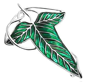 Leaf claspthe elven brooch necklacethe lord of the rings amazon leaf claspthe elven brooch necklacethe lord of the rings aloadofball Image collections