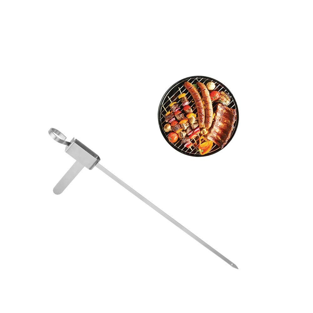 Stainless Steel Barbecue Sign Picnic Barbeque Pin Party Barbecue Roast Lamb Skewer Sign Tool by Palm