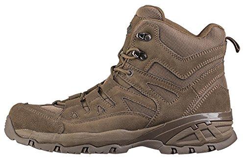 Chaussures Squad mid Grises - Miltec Marron 3I2Ws