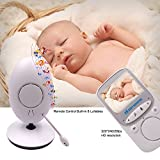 Cheap Baby Monitor, Video Baby Monitor 3.5″ Large LCD Screen, Baby Monitors with Camera and Audio Night Vision,960ft Range,ECO Mode,Two Way Talk BM1-28
