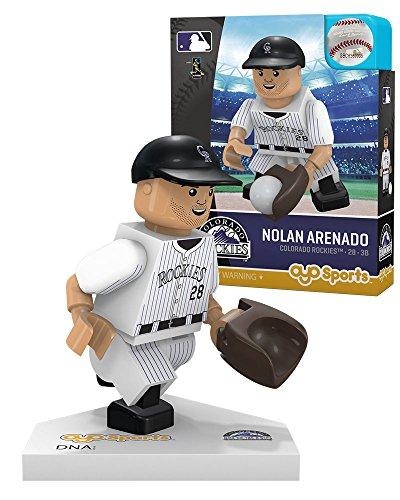 Oyo Sportstoys MLB Boston Red Sox Colorado Rockies Nolan Arenado Home Uniform Limited Edition Minifigure, Small, -