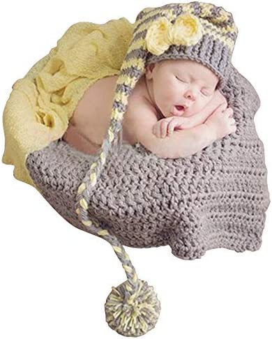 Newborn Baby Prop Photo Photography Outfits Girls Boys Cute Crochet Knit Outfits