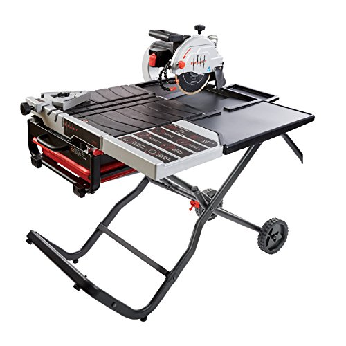 Sale!! Lackmond BEAST10PKIT - Beast 10 Wet Tile Saw Kit - Includes Saw, Trays, Side Table & Beast G...