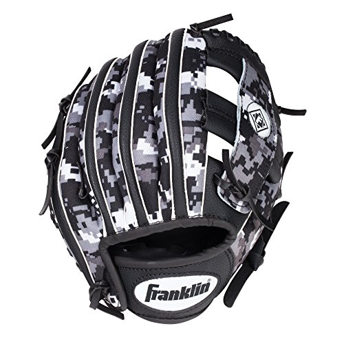 Franklin Sports RTP Digitek Teeball Performance Gloves, 9.5