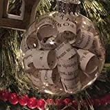 Harry Potter Book Glass Christmas Tree Ornament