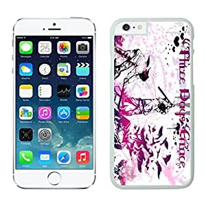 NEW DIY Unique Designed Case For Iphone 6 Three Days Grace (2) iphone 6 White 4.7 TPU inch Phone Case 416